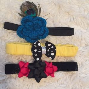 Other - Set of three headbands for baby girl